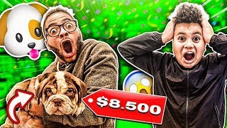 SURPRISING MY LITTLE BROTHER WITH HIS DREAM DOG!!! **EMOTIONAL**