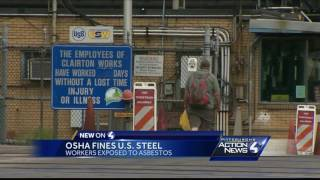 US Steel fined $170,000 after investigation finds workers exposed to asbestos