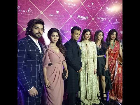 Daisy Shah Gurmeet Choudhry Debina attended Vikram Phadnis Shaadi J W Marriot Fashion Show Event