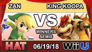 HAT 26 - PG FAD | Zan (Toon Link) Vs. TCM | King Koopa (Bowser) Winners Semis - Smash 4