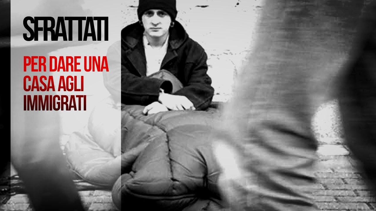 Risultati immagini per italiani sfrattati