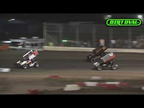 6 15 19 Interstate Sprint Car Series Race #2  Willamette Speedway Highlights