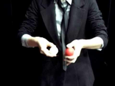 Mirage Billiard Balls by JL Yellow, single ball only  Trick   www octomagic com
