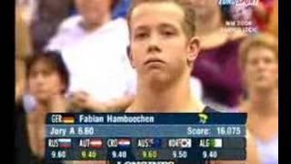 Fabian hambüchen wm 2006 sprung -
