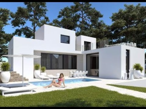 Acheter une maison sur la costa blanca villa construction for Construction villa moderne