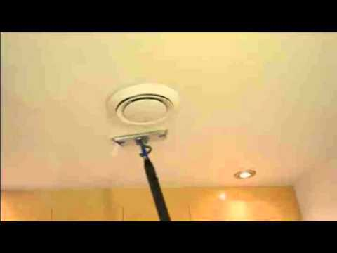 How to Clean your walls and ceilings with our steam cleaners
