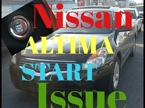 2008 Nissan Altima won't start issue.....one click....fixed!
