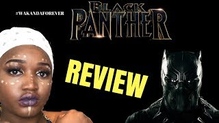 Black Panther Review|| #WakandaForever!! (NO SPOILERS)