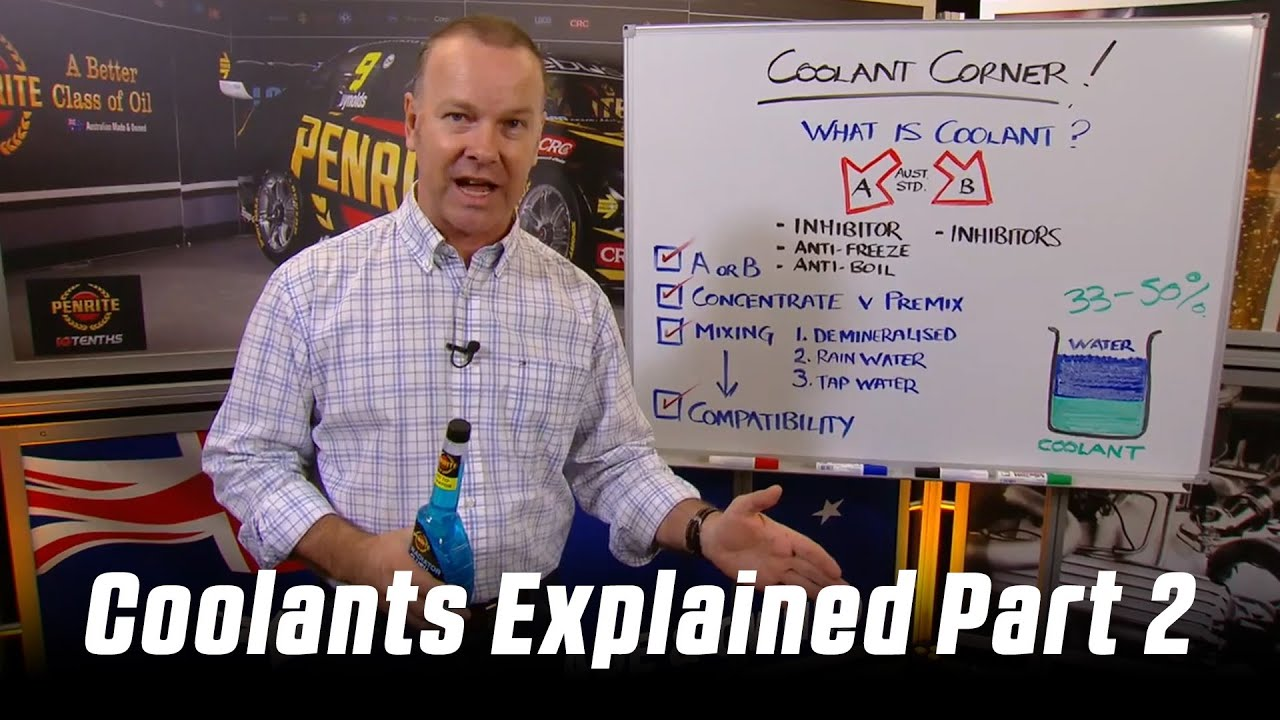 10 TENTHS RACE COOLANT INHIBITOR (CONCENTRATE) | Penrite Oil
