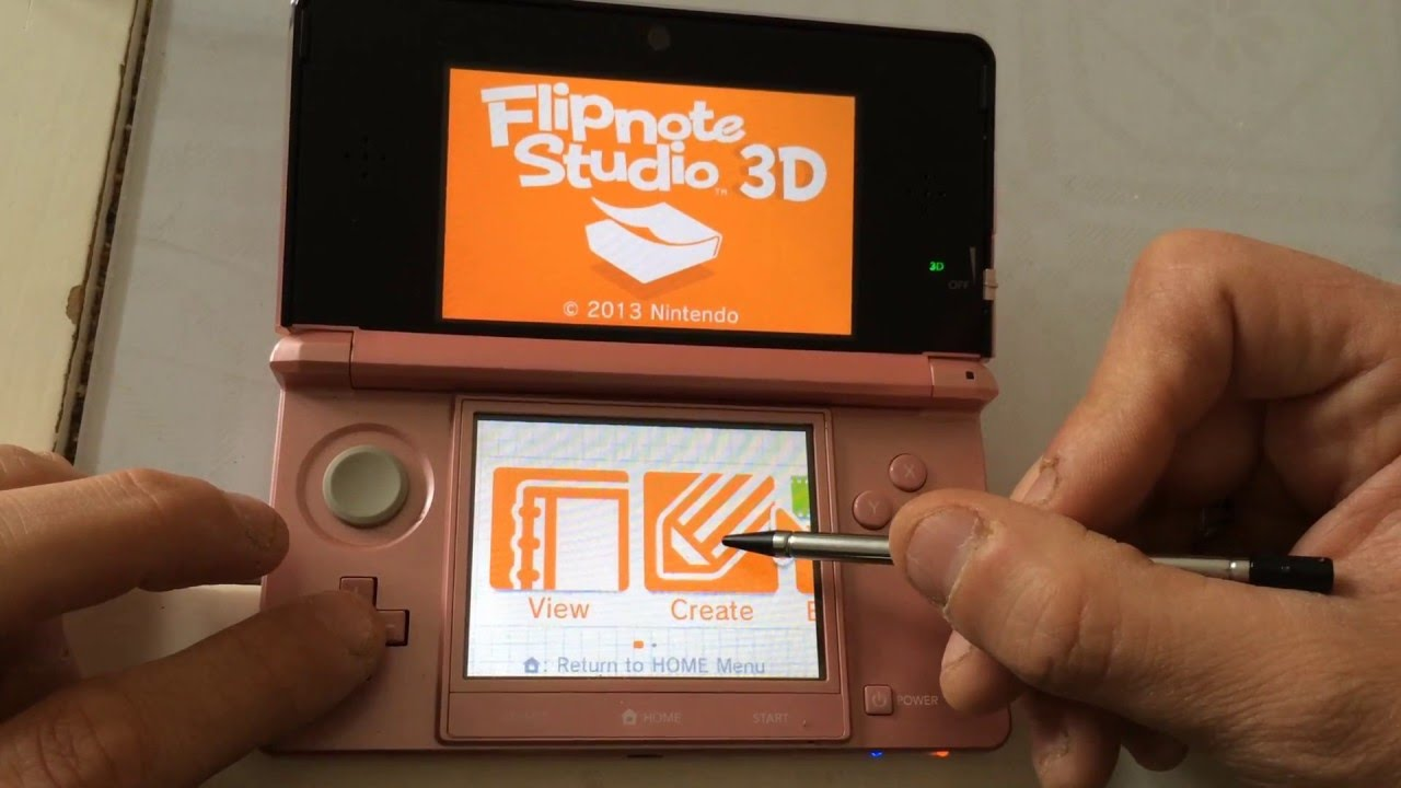 How to get flipnote hatena on 3ds