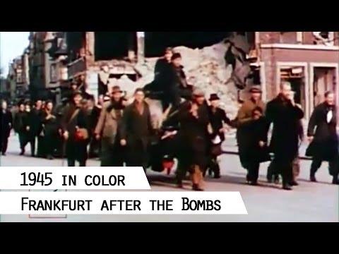 Frankfurt am Main 1945 (in color)