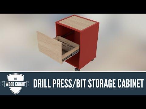 115 - Drill bit storage