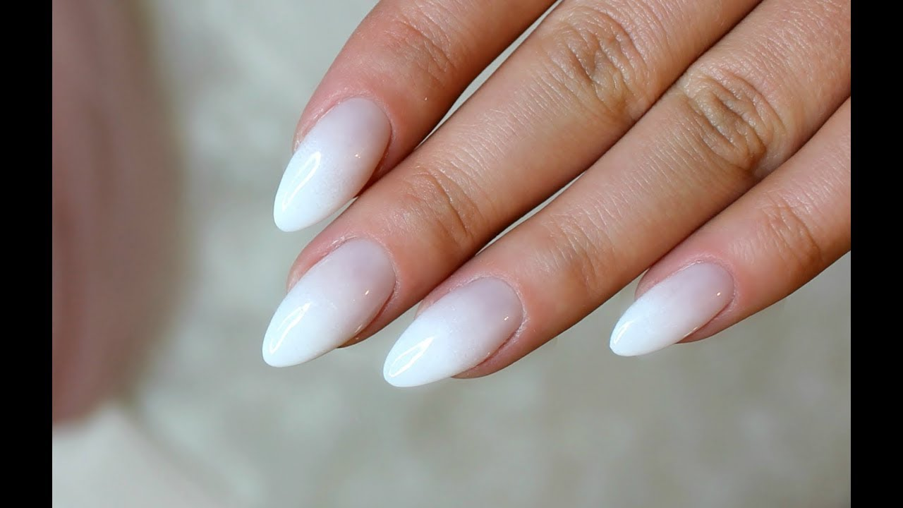 French Almond Nails | www.pixshark.com - Images Galleries ...
