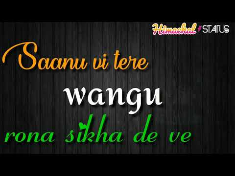 Rona Sikha De Ve Jaani B Praak New Wattsaap Status Song