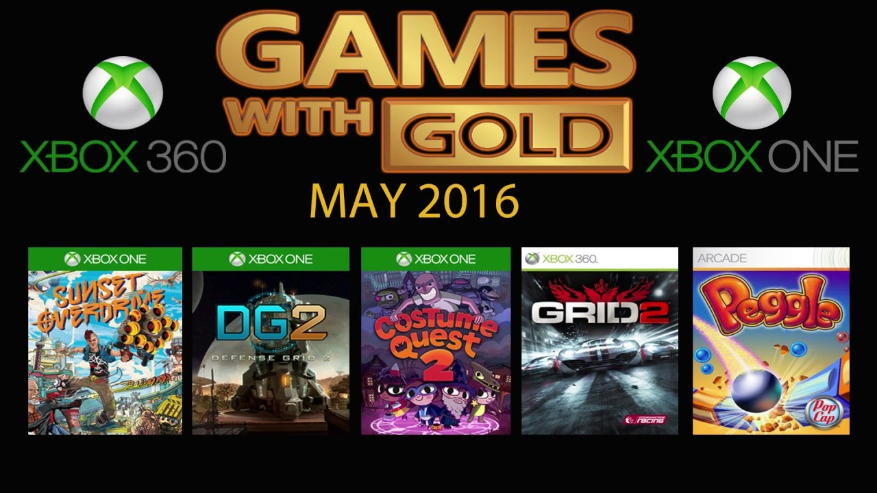 Xbox 360 Games With Gold : Games with gold may xbox one youtube
