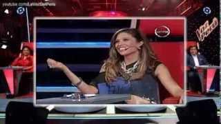 LA VOZ KIDS PERU 14 01 14 ANTONELLA MONTALVO 'De Mi Enamorate'   Audiciones a Ciegas