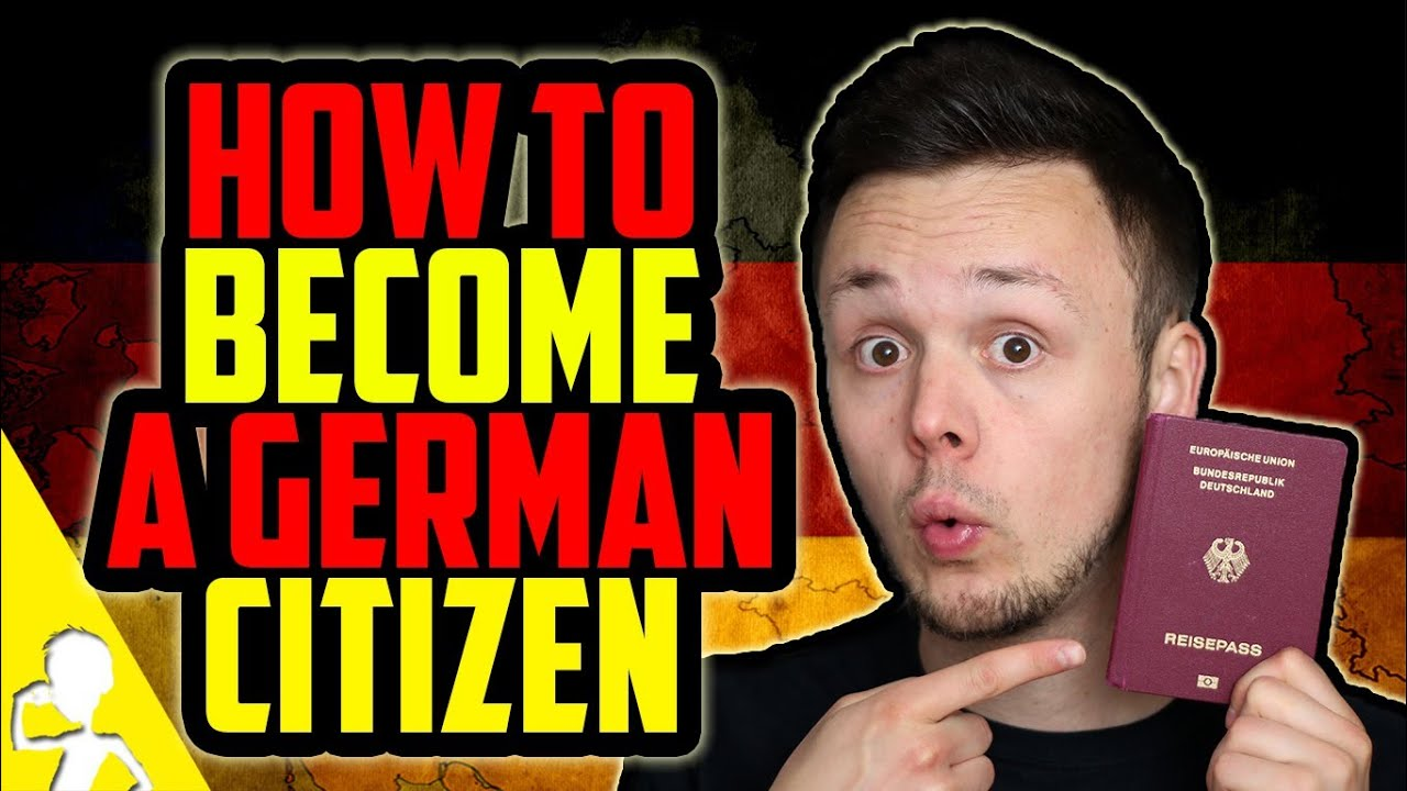HOW TO BECOME A GERMAN CITIZEN  YouTube