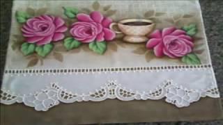 Pintura em tecido/Falso Richilieu