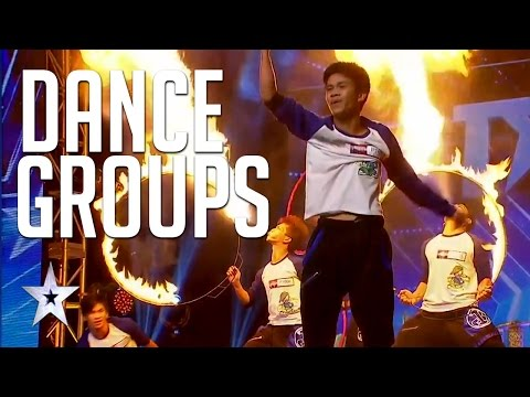 The Best Dance Crews & Groups On Asia's Got Talent | Auditions