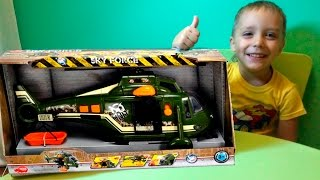 Новая игрушка. Военный вертолет Sky Force. Unboxing new toys military helicopter(Новая игрушка. Военный вертолет Sky Force. Unpacking a new toy. Military helicopter Sky Force Desembalaje un juguete nuevo. Helicóptero militar Sky ..., 2015-11-30T03:45:53.000Z)