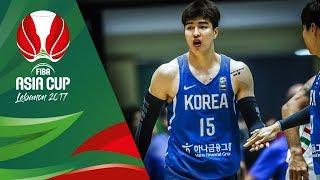 Top 5 Plays - Day 1 - FIBA Asia Cup 2017