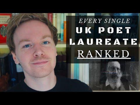 Ranking Every Single Poet Laureate of the United Kingdom