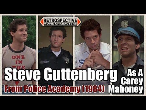 Steve Guttenberg As A Carey Mahoney From Police Academy (1984)