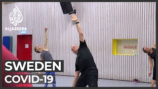COVID-19: Sweden struggles to keep physically fit in lockdown