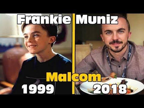 Malcom  (Malcolm in the Middle) - Avant Et Après 2018