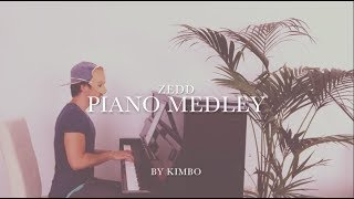 Zedd - Piano Medley (+ Sheets) [incl. The Middle & Happy Now]