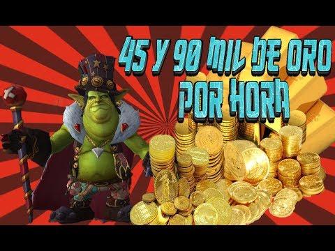 !!!COMO CONSEGUIR 90MIL DE ORO POR HORA EN EL WOW LEGION (FIRESTORM)2018¡¡¡