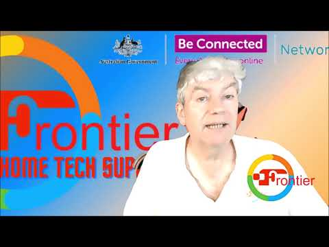 Frontier Home Tech Support Show   Be Connected Tutorial. What is a Computer? Episode 1.