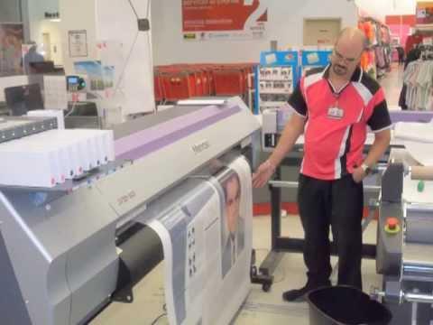 Mimaki y Web 2 Printing en Kmart, Plaza Las Americas PR