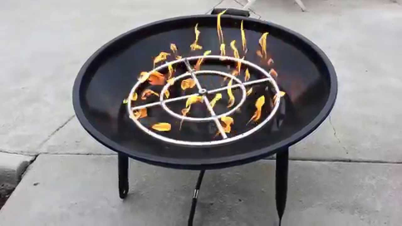 Charcoal Wood Amp Propane Converted Bbq Grill Firepit R2