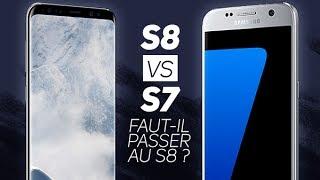 S7 vs. S8 : Comparatif complet, faut-il passer au S8 ? - W38