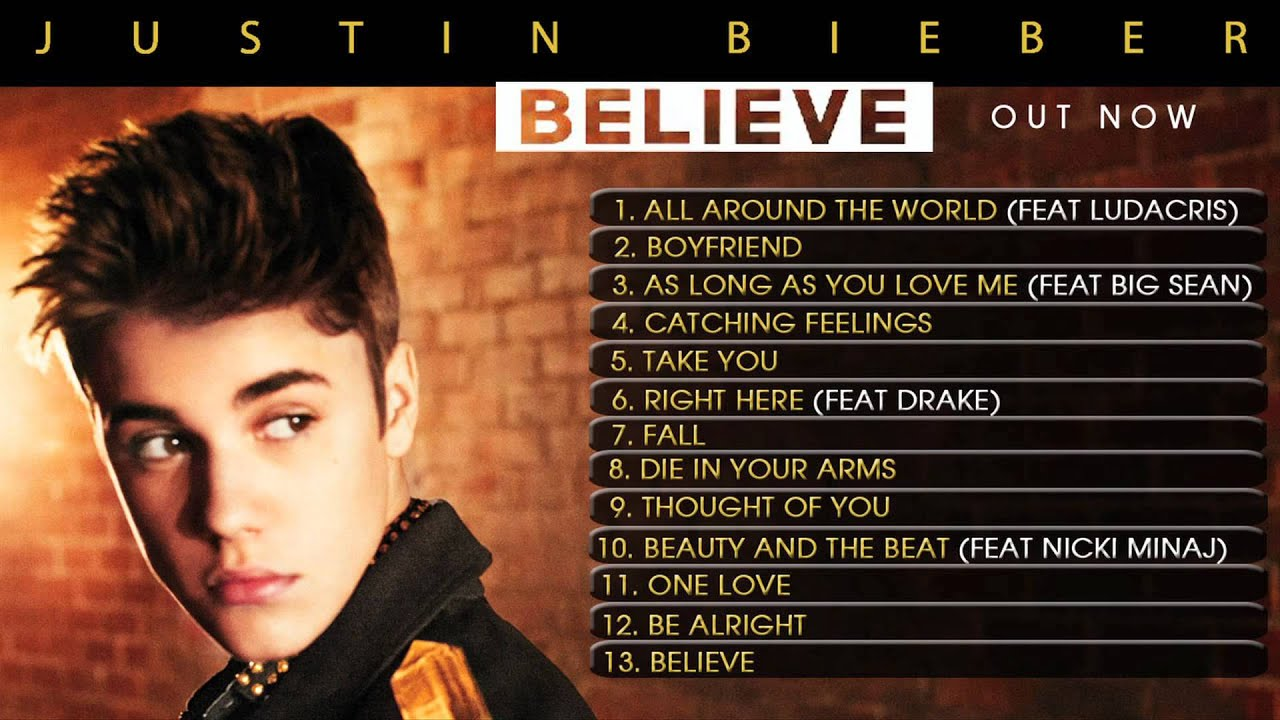album believe justin bieber 2012 meet