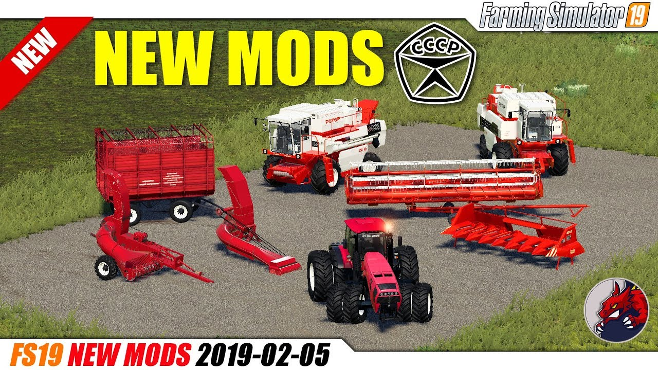 FS19 | New Mods (2019-02-05) - review