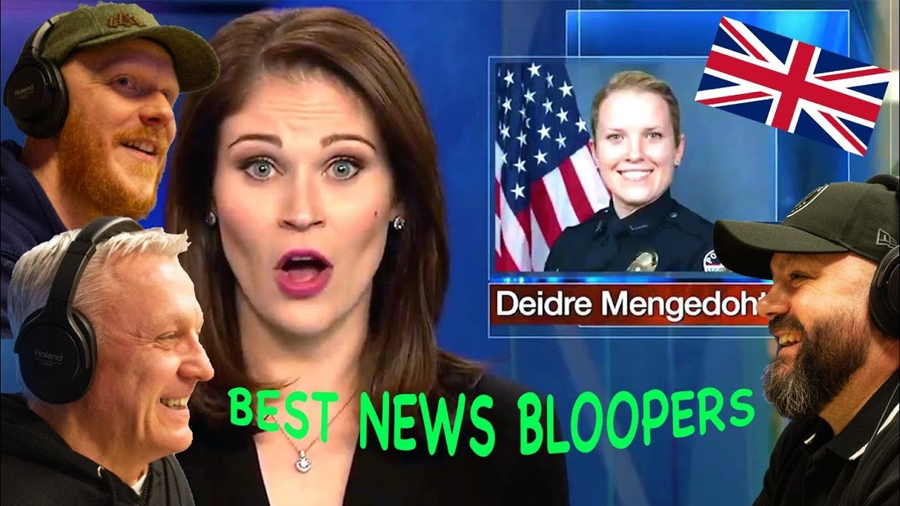 Best News Bloopers REACTION!!   OFFICE BLOKES REACT!!