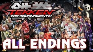 Tekken Tag Tournament 2 - 'All Character Endings' TRUE-HD QUALITY