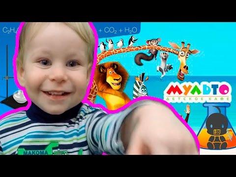 Химическое шоу. Химическое шоу для детей в Мульто Кафе Vlog 4
