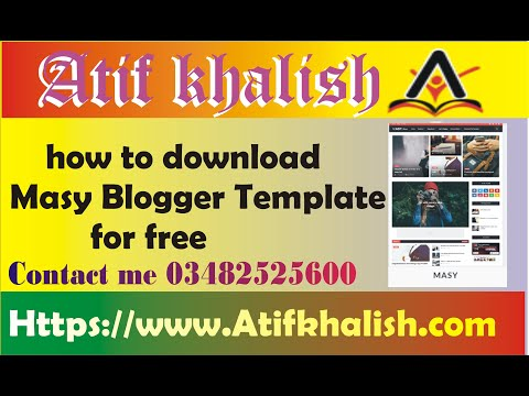 Blogger Templates AdSense Friendly With Download Link