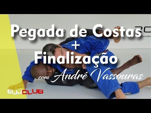 Pegada de Costas + Finalização com André Vassouras - Jiu Jitsu - BJJCLUB