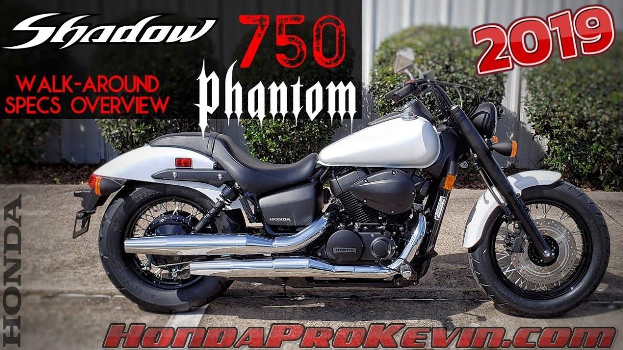 2019 Honda Shadow Phantom 750 Review Of Specs Walk Around Cruiser Motorcycle Vt750 Youtube