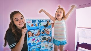 ALL ABOUT ADLEY  (back to school)