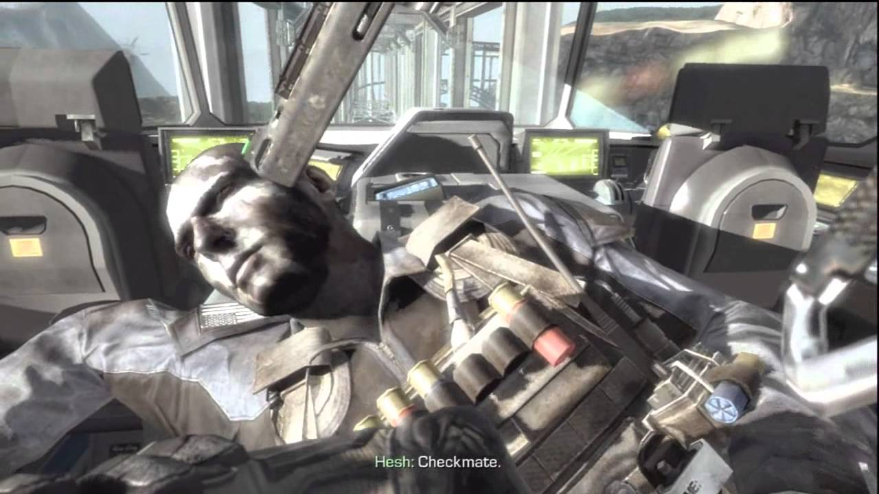 Cod Ghosts Ending Rorke S Death After Credit Scene Youtube