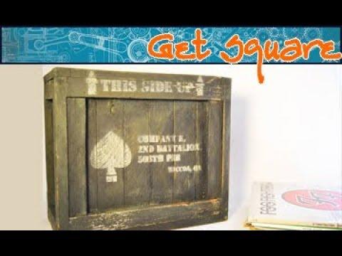 Build a wood vinyl record storage crate (DIY