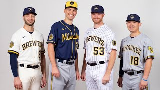 Brewers new logo and jerseys