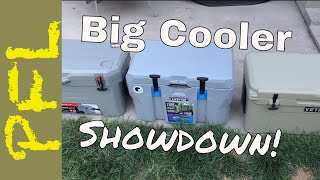 Cooler Test | Lifetime 55 vs Ozark Trail 52 vs Yeti 65