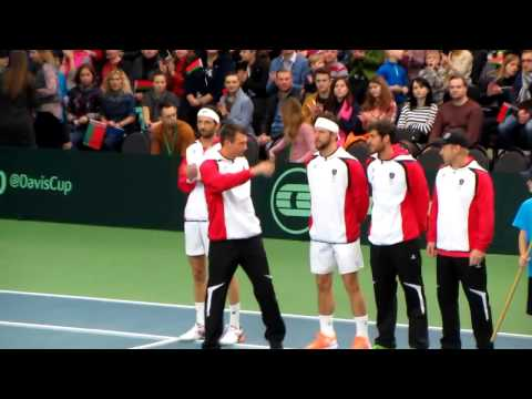 Davis Cup 2017. Belarus vs Austria. Second day. 8 April, 2017.