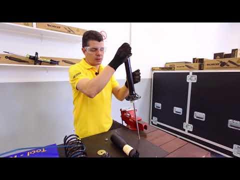 Troca do amortecedor traseiro do Volkswagen Gol